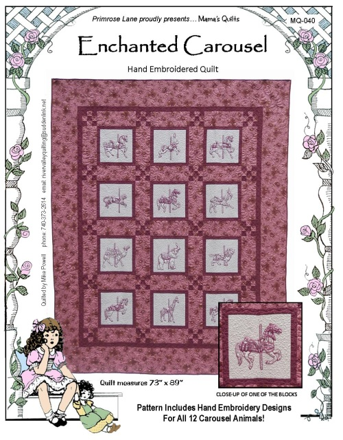 The Enchanted Carousel Quilt
